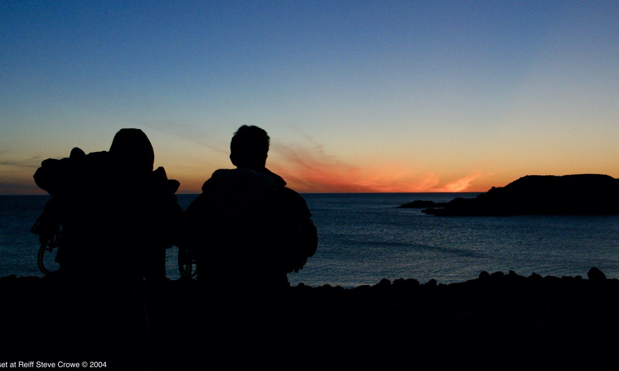 Sunset at Reiff © Steve Crowe 2004